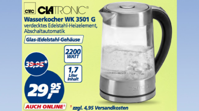Clatronic WK 3501 G ©Real