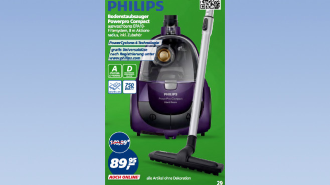 Philips Powerpro Compact © Real