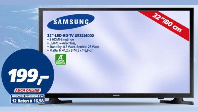 Samsung UE32J4000 ©Real