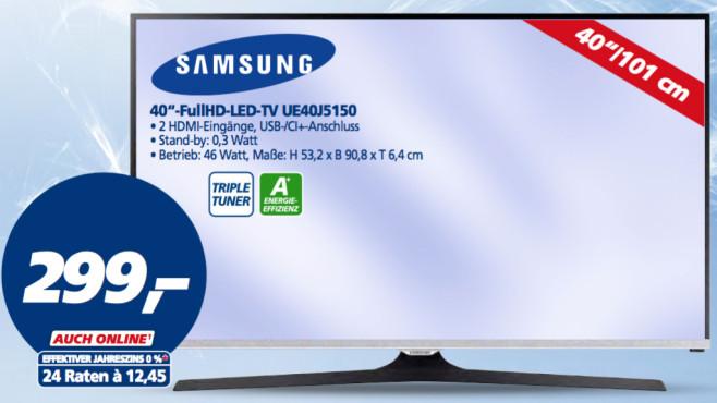 Samsung UE40J5150 ©Real
