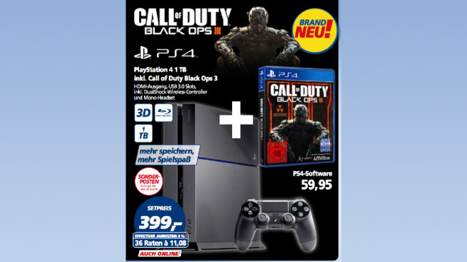 Sony Playstation 4 1TB Bundle © Real