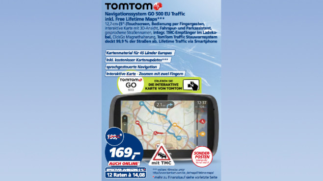 Tomtom GO 500 EU Traffic © Real