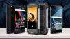 Die beliebtesten Smartphone-Exoten bei Amazon © Archos, Blackview Diamond, BlackBerry, Ms.Moloko – Fotolia.com