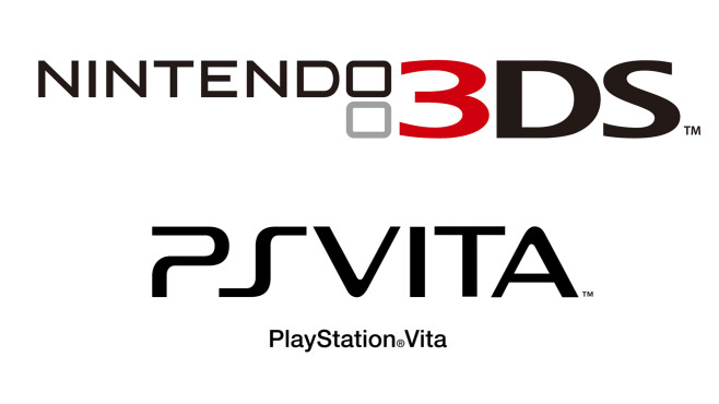 3DS, PS Vita © Nintendo, Sony