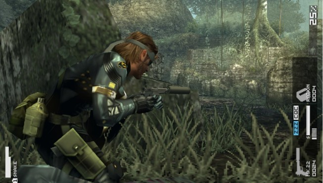 Metal Gear Solid Portable Ops © Konami