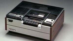 Sonys erster Betamax-Videorecorder SL6300 ©Sony