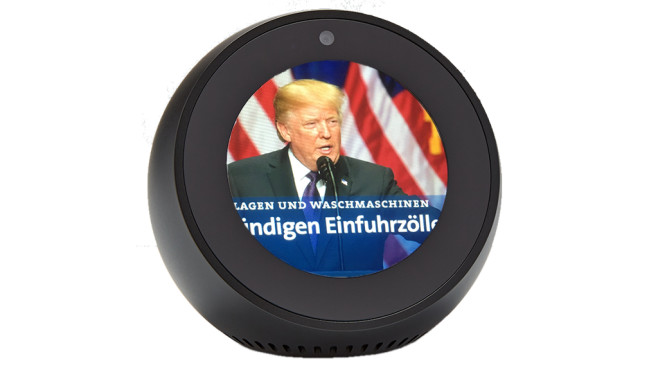 Amazon Echo Spot © COMPUTER BILD, Amazon
