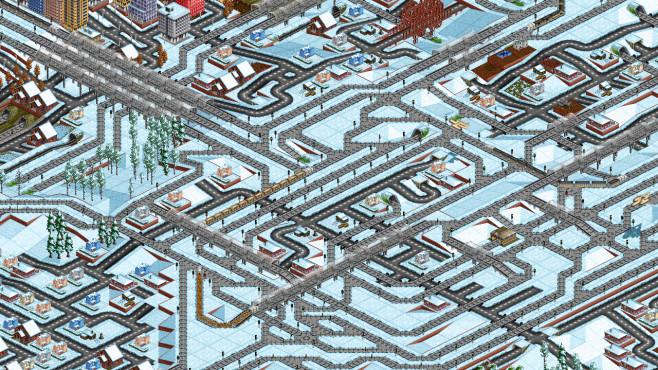 OpenTTD: Schnee ©OpenTTD Team
