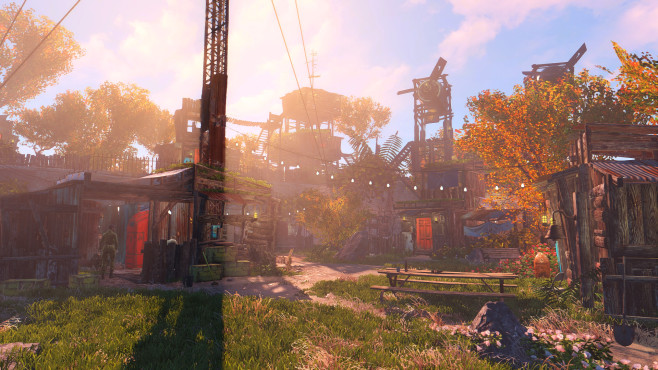 Fallout 4: Settlements ©Bethesda/Reddit/DjWhitePeople