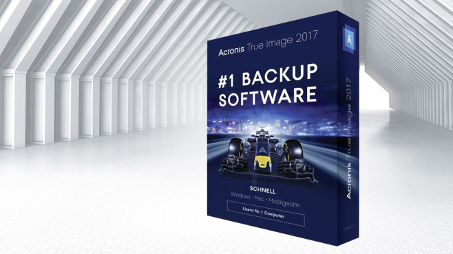 Acronis True Image 2017 © Acronis, ©istock.com/newannyart
