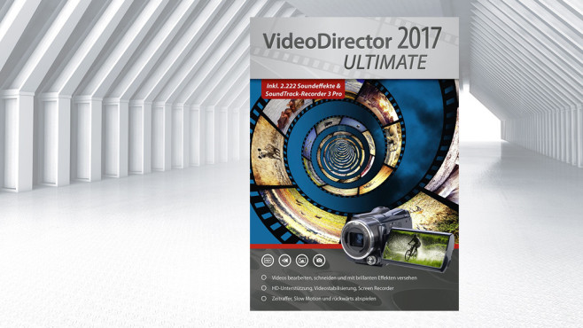 VideoDirector 2017 Ultimate © Markt+Technik, ©istock.com/newannyart