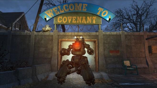 Fallout 4 Robot Defence ©Bethesda/TheTalkieToaster/Nexus Mods