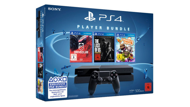 PS4: Player Bundle © Sony