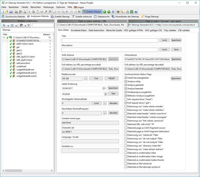 a1 sitemap generator 8 0 1 download computer bild