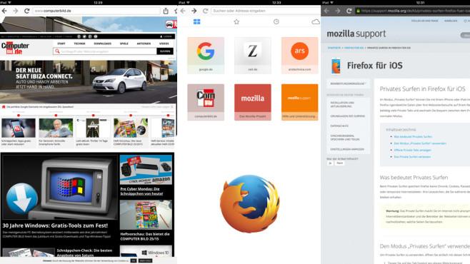 Firefox Internetbrowser ©Mozilla