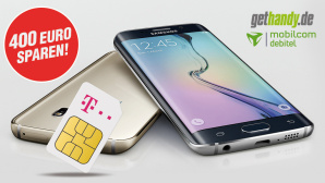 Top Telekom-Tarif plus Galaxy S6 Edge sichern ©Samsung/Telekom/GetHandy/Mobilcom Debitel/COMPUTER BILD