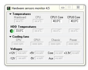 Hardware Sensors Monitor (Hmonitor)