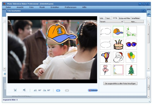 Screenshot 4 - AnvSoft Photo Slideshow Maker