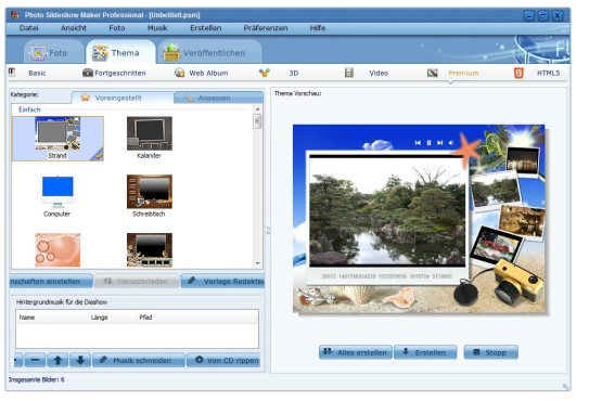 Screenshot 5 - AnvSoft Photo Slideshow Maker