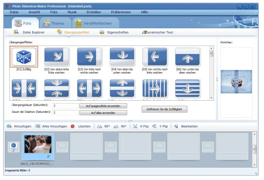 Screenshot 6 - AnvSoft Photo Slideshow Maker