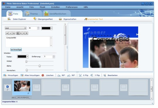 Screenshot 7 - AnvSoft Photo Slideshow Maker