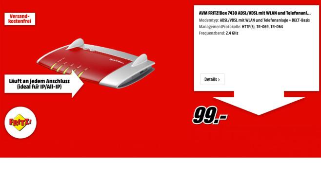AVM FRITZ!Box 7430 ©AVM