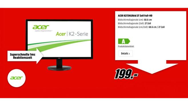 Acer K272HLDbid ©Acer