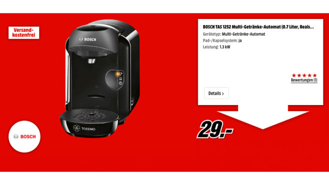 Bosch TAS 1252 ©Bosch
