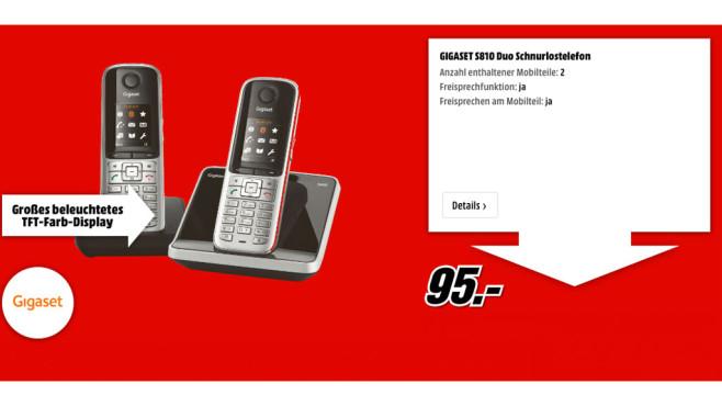 Gigaset S810 Duo ©Gigaset