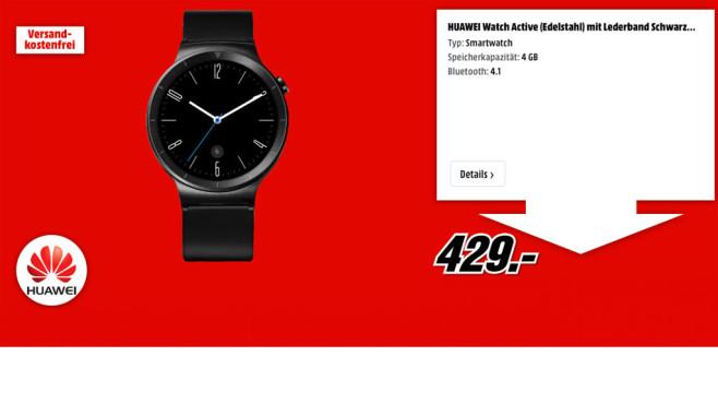 Huawei Watch Active ©Huawei