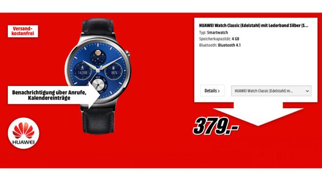 Huawei Watch Classic ©Huawei