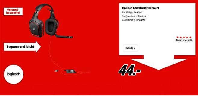 Logitech G230 Headset ©Logitech