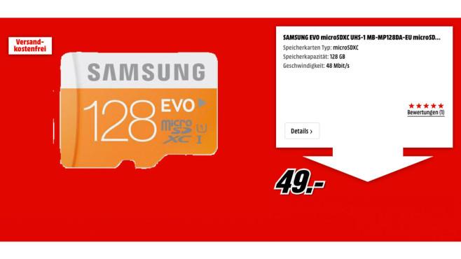 Samsung EVO microSDXC ©Samsung