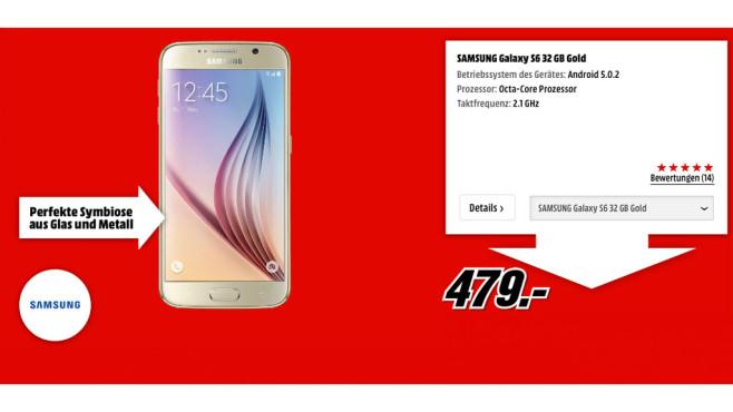 Samsung Galaxy S6 ©Samsung