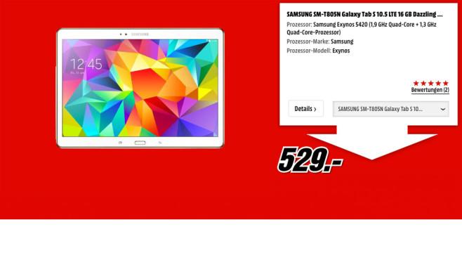 Samsung Galaxy Tab S ©Samsung