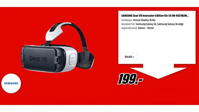 Samsung Gear VR Innovator Edition ©Samsung