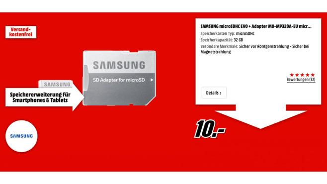Samsung microSDHC EVO ©Samsung microSDHC EVO
