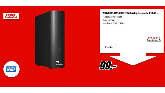 WD Desktop-Festplatte ©WD
