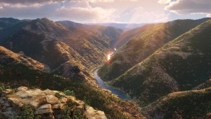 Szene aus Arlo & Spot: Landschaft, Totale ©Disney/Pixar