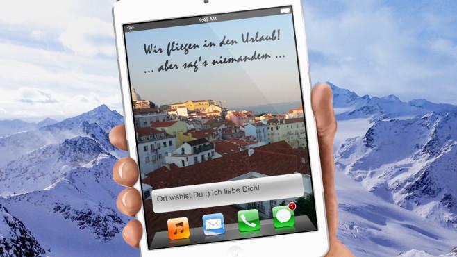 Das iPad als Gutscheinvorlage ©Ashampoo / Screenshot: COMPUTER BILD