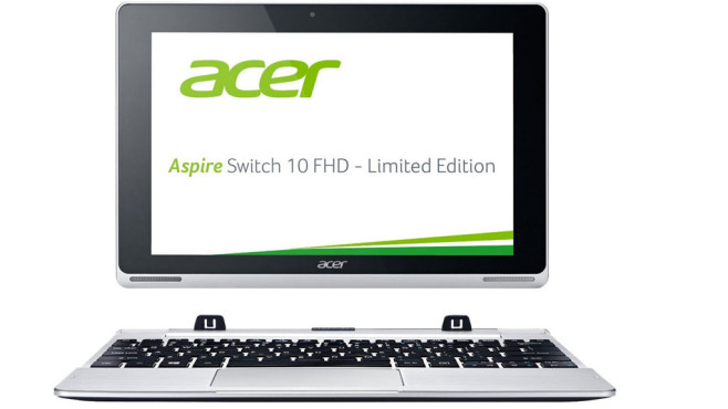 Acer Aspire Switch 10 FHD SW5-015 Limited Edition © Acer