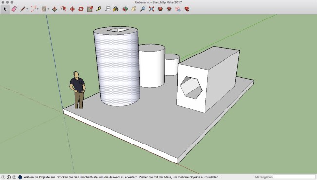 Screenshot 1 - SketchUp Make (Mac)