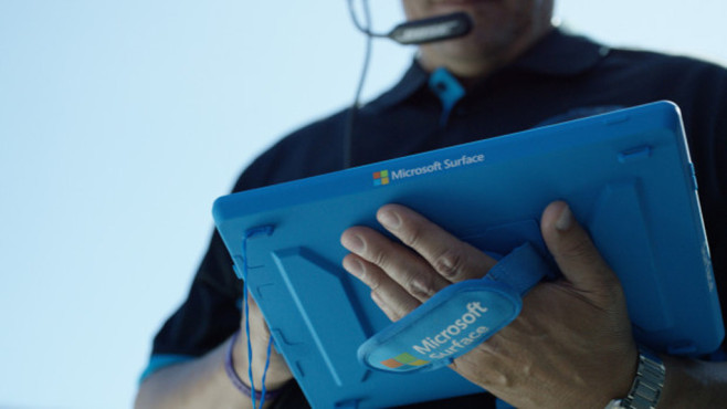 Microsoft Surface in Spezial-H�lle ©Microsoft