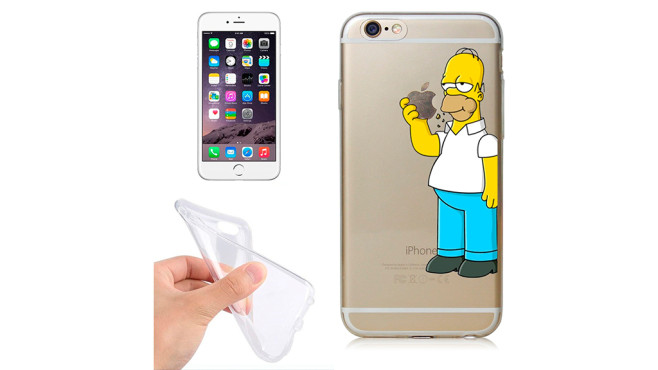 Homer Simpson-Case für das iPhone 6 © Amazon