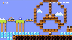 Super Mario Maker: Mercedes-Benz © Nintendo