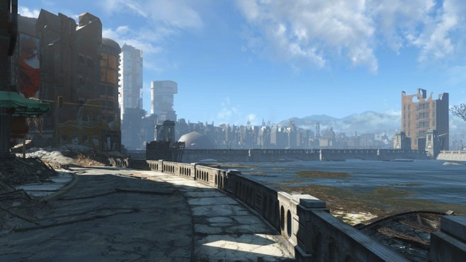 Eine Sightseeing-Tour durch Boston machen in Fallout 4 © Bethesda