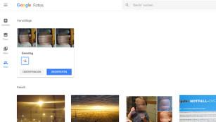 Google Fotos verbessert Teilen-Funktion In der Teilen-Übersicht macht Google Fotos ab sofort intelligente Vorschläge, welche Aufnahmen für Freunde und Famillienmitglieder interessant sein könnten. ©COMPUTER BILD