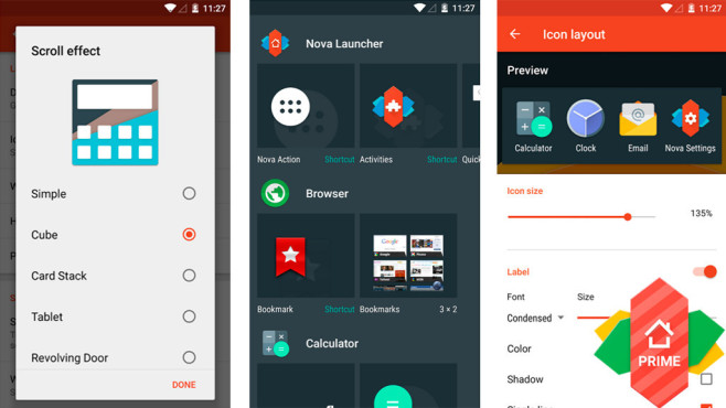 Nova Launcher Prime © TeslaCoil Software