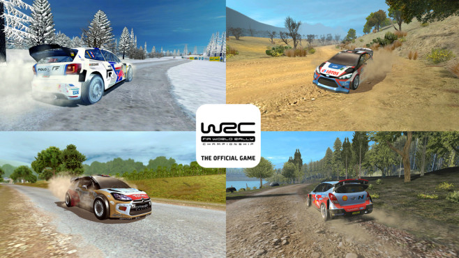 WRC Official Game © Bigben Interactive