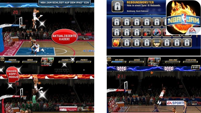 NBA Jam Arcade Basketball © EA